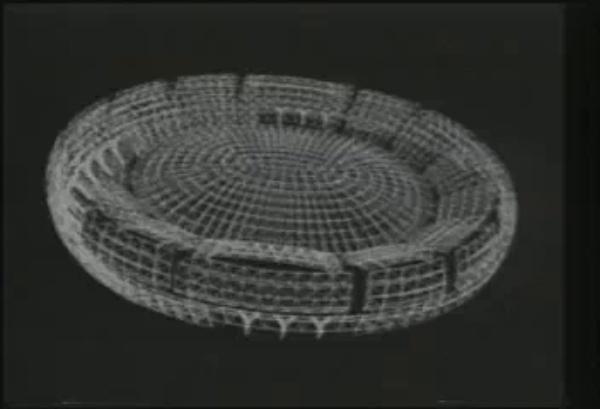 Animación del despliegue de Namihaya Dome - M. Kawaguchi