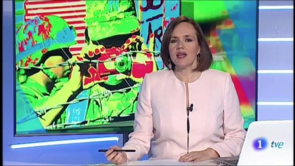 Noticia TVE 1 - Exposicíon Text_no_Text en Alicante
