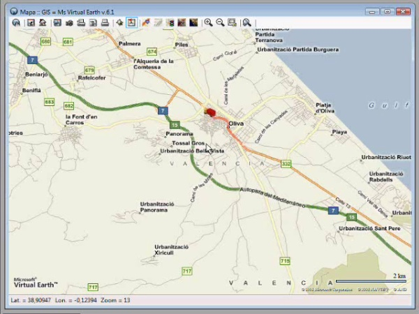 Rutas - mapping multiple vehicle tracking