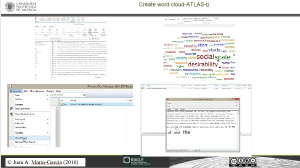 Literature review guided example refine automatic search with word clouds (step5-atlas-ti)