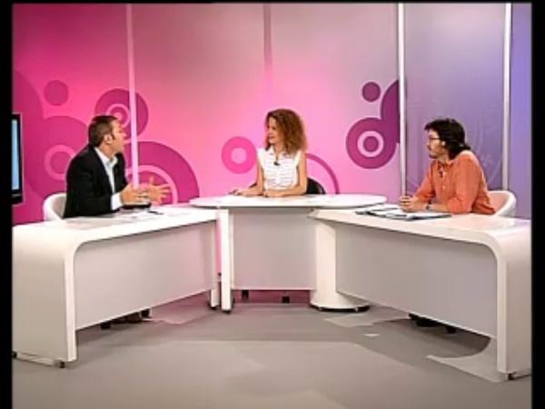 Jose Luis Poza y Daniel Martínez en Politécnica Tal Cual