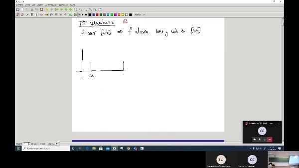 Matemáticas 1 GIOI grupo A  Clase 32 (Extremos 1)