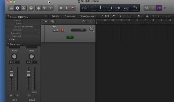 Tutorial Logic X: Editor de partitura