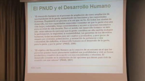Koldo Unceta - La Cooperación Internacional en los tiempos del Desarrollo Humano - parte 3 de 4