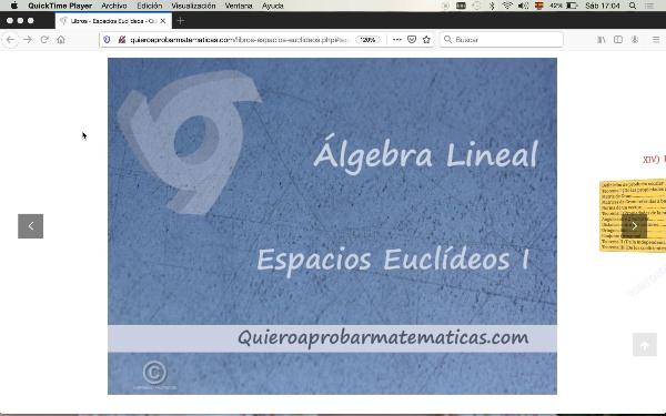Teoría espacios euclídeos I