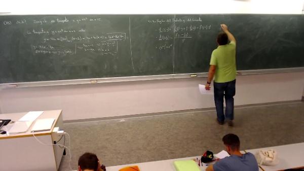 Matemáticas I-13-6-Ejemplo Calculo de primera y segunda derivada