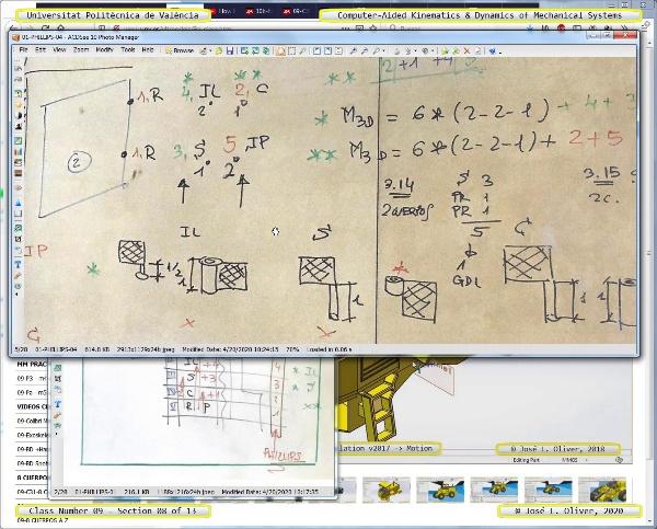 Mecánica y Teoría de Mecanismos ¿ 2020 ¿ MM - Clase 09 ¿ Tramo 08 de 13