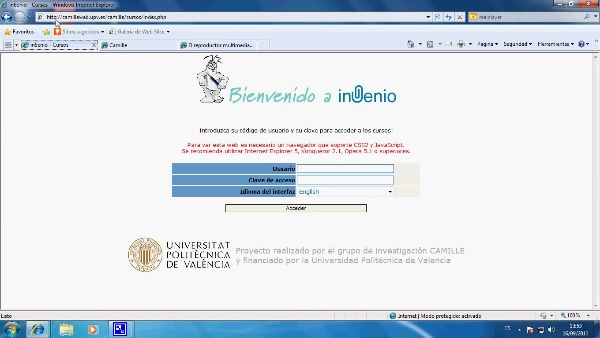 Introducción plataforma InGenio