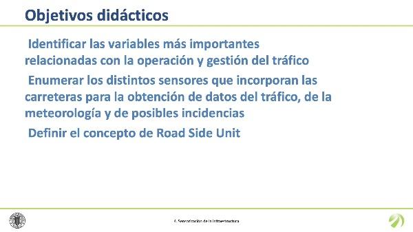 Sensorización de la infraestructura vial