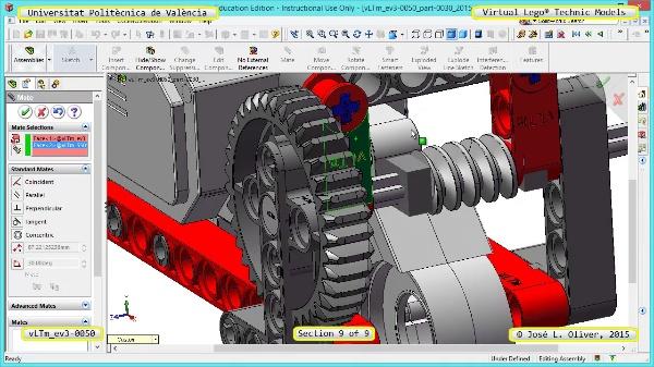 Creación Virtual Modelo Lego Technic - Isogawa ¿ ev3-0050 ¿ 9 de 9