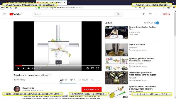 Simulación Cinemática Tang_EquidistantCurvesEllipse1bInv-v8r5 con Recurdyn - AdP-z