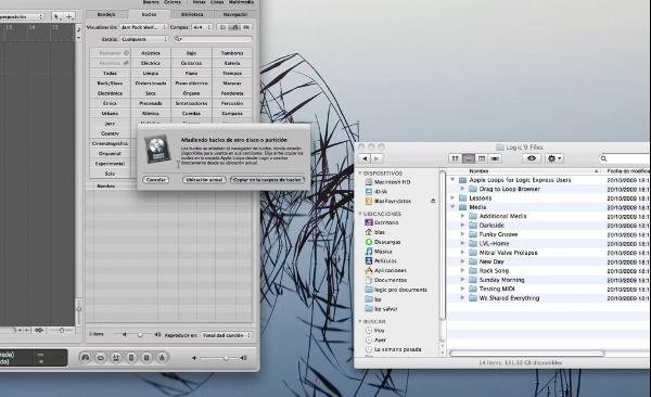 Tutorial Logic 3: introducir apple loops