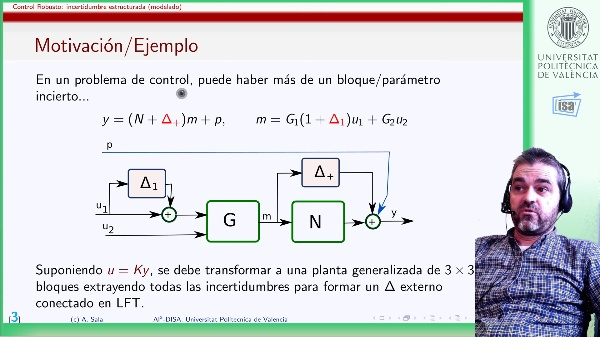 Incertidumbre estructurada en control robusto: modelado diagonal por bloques