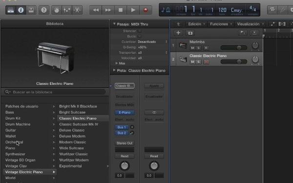 Tutorial Logic Pro X: Smart Controls y Track Stacks (pilas de suma y de carpeta)