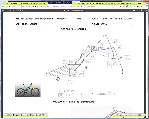 Mecánica y Teoría de Mecanismos ¿ 2020 ¿ MM - Clase 07 ¿ Tramo 05 de 10