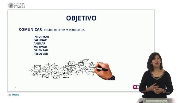 SPOC Gestión de MOOC. Universidad Carlos III de Madrid. Objetivos mensajería electrónica (1)