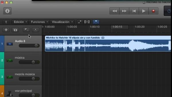 Utilizar Logic para el análisis audiovisual
