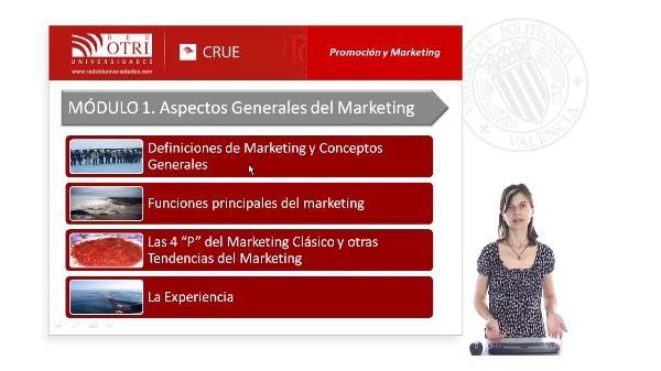 Modulo 1: Promoción y Marketing