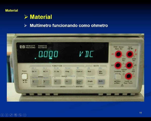 Laboratorio Electricidad: 4.-Ley de Ohm - video 2