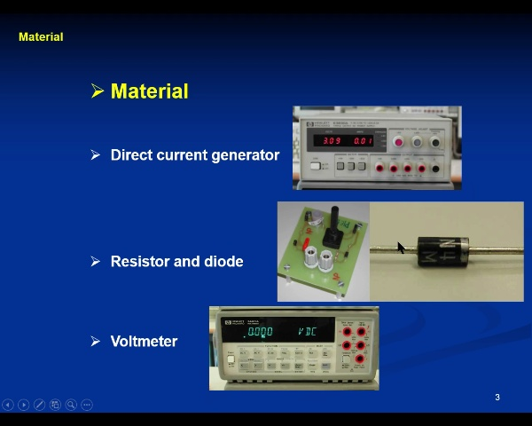 Electricity Lab: 5.-Diode- video 1