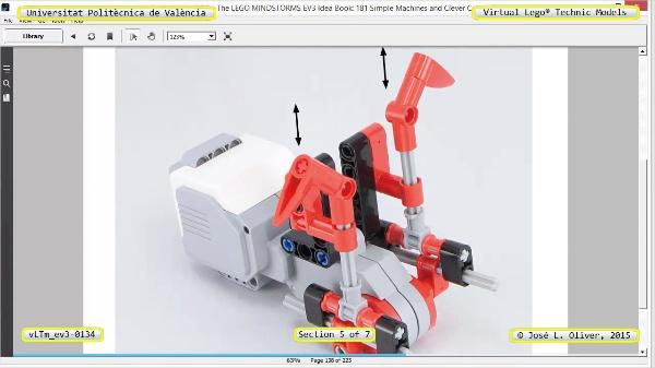 Creación Virtual Modelo Lego Technic - Isogawa ¿ ev3-0134 ¿ 5 de 7