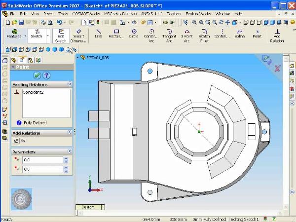 Montaje de un robot ABB con Solidworks - tramo O2 de 10
