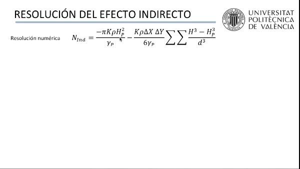 Resolución del efecto indirecto en la obtención de modelos de geoide locales de alta precisión