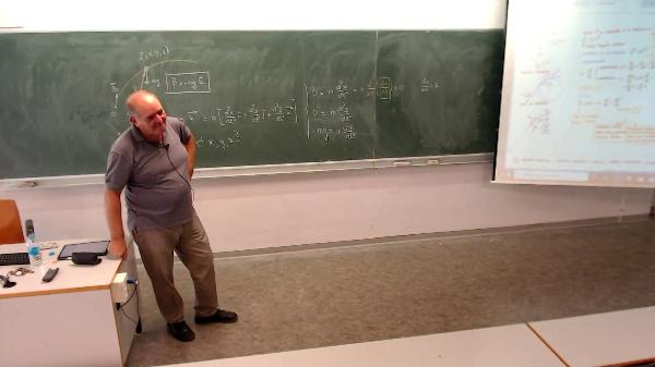 Física 1. Lección 3. Atracción gravitatoria