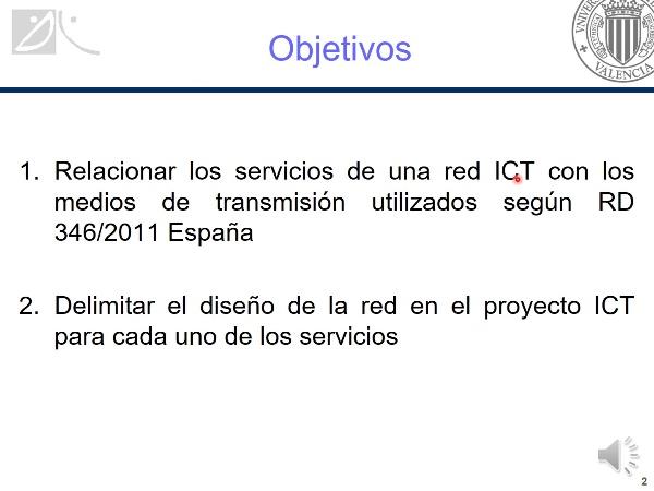 Servicios ICT y medios de transmisión
