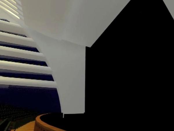 Sala Principal del Palau de les Arts. Virtualización.