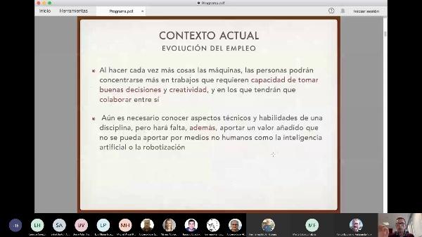 Charla presentación candidatura director ETSIT 13/11/2020