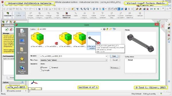 Creación Virtual Modelo Lego Technic - Isogawa ¿ ev3-0053 ¿ 4 de 5