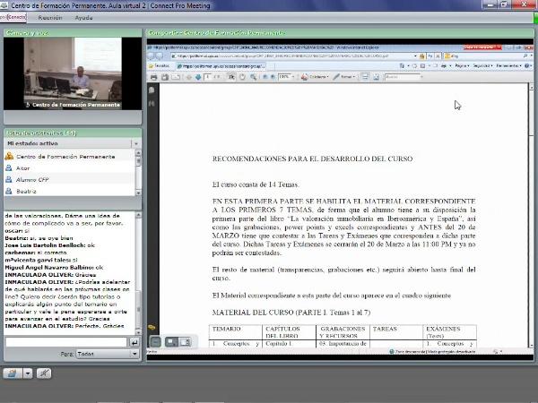 Grabación Clase on-line- Valoración inmobiliaria. Parte III