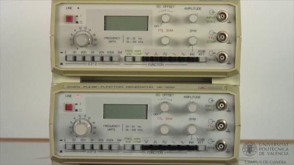 Generador de Funciones. Amplificador