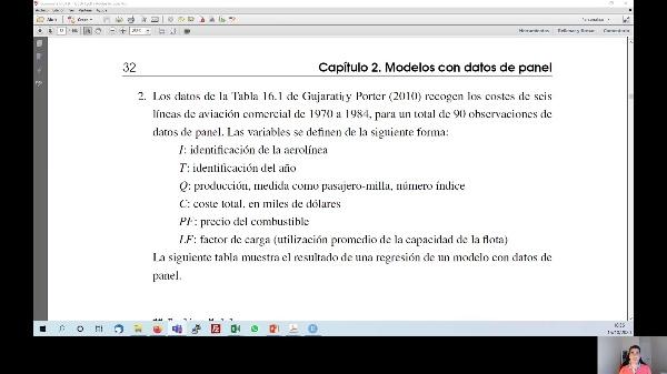 Interpretación de estimaciones de modelos de datos de panel (pool de datos y efectos fijos)