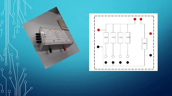 The resistor box