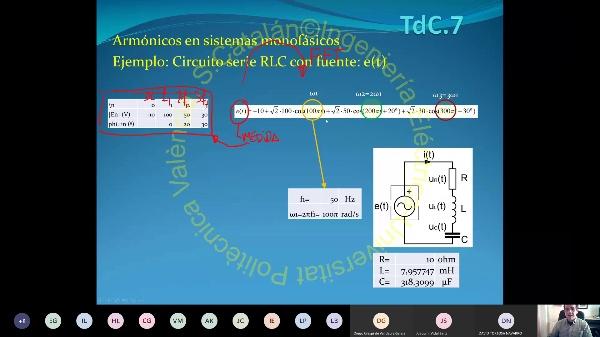 TdC-2.07.3-Armonicos en sistemas trifásicos-Potencia-fdp