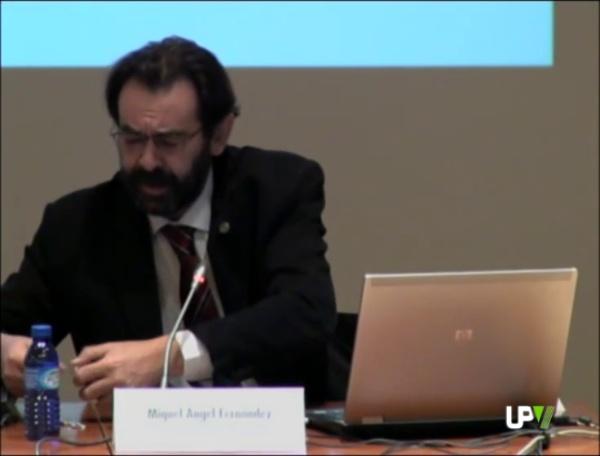 XI Jornadas de Orientación. La implantación del EEES en la UPV. Miguel Ángel Fernández Prada