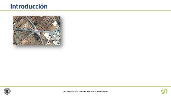 Análisis y estimación de accidentes. Estudios antes/después