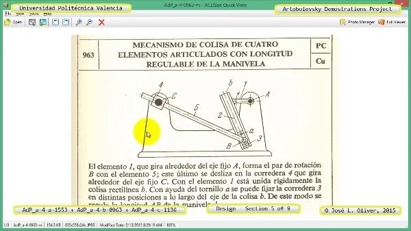Creación Virtual Mecanismos a-4-1553-0963-1136 con Solidworks - 5 de 9