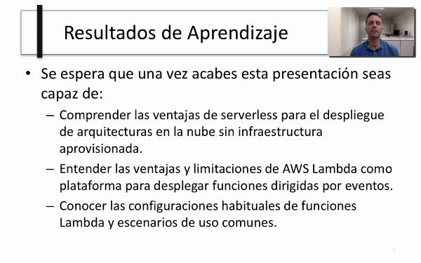El servicio AWS Lambda