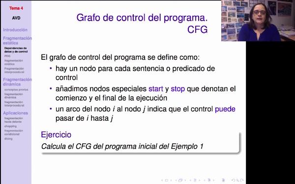 AVD - Fragmentación estática de programas