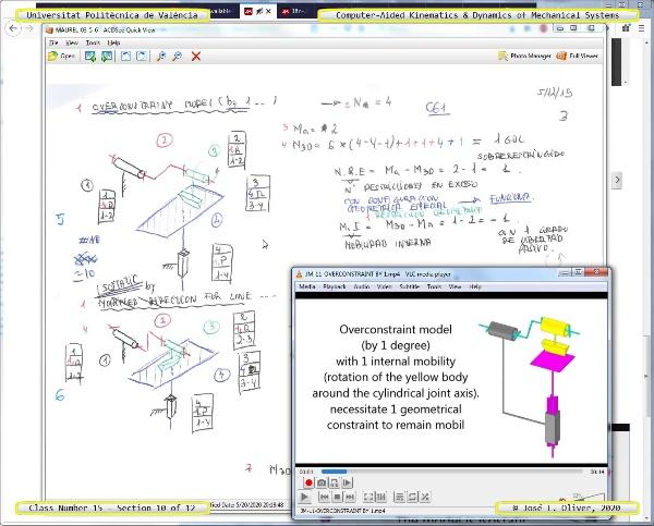 Mecánica y Teoría de Mecanismos ¿ 2020 ¿ MM - Clase 15 ¿ Tramo 10 de 12