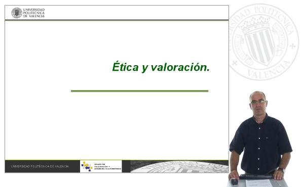 Etica y valoracion