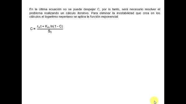 Cálculos iterativos con Excel. Método de la dicotomía