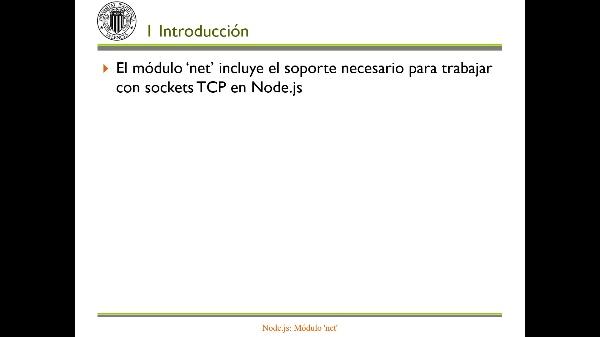 Node.js: Módulo 'net'