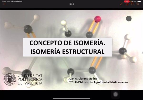 Isomería estructural