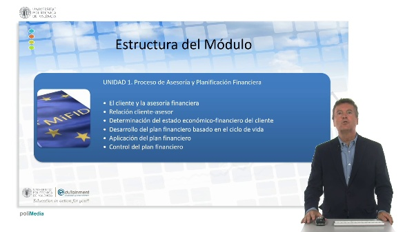 Contextualización. Asesoramiento financiero.