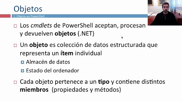 Objetos y variables en Windows PowerShell