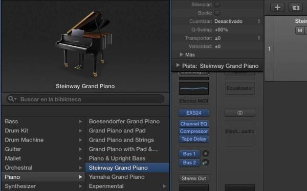 Tutorial Logic Pro X 5.1 Grabación de MIDI